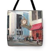 Old Kaufmann's Clock Tote Bag