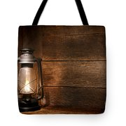 Old Kerosene Light Tote Bag