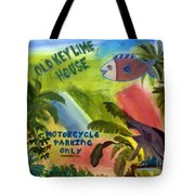 Old Key Lime House Tote Bag