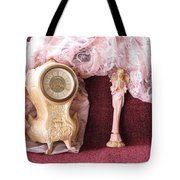 Old Lace And Time Tote Bag