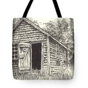 Old Lanes Cove Fishing Shack Tote Bag