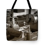 Old Lathe Tote Bag
