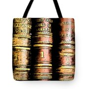 Old Ledgers					 Tote Bag