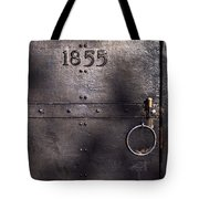 Old Lighthouse Door Tote Bag