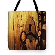 Old Lock And Key Tote Bag