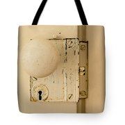Old Lock Tote Bag by Photographic Arts And Design Studio