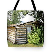 Old Log Homestead IIi Tote Bag