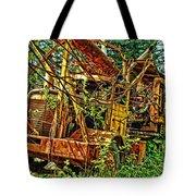 Old Logger-hdr Tote Bag