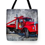Old Mack Truck Tote Bag