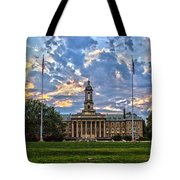 Old Main At Sunset Tote Bag