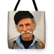 Old Man Of Mykonos Tote Bag