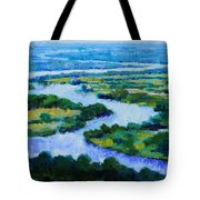 Old Man River Tote Bag