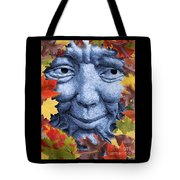 Old Man Winter Is A Coming Tote Bag