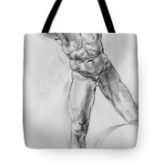 Old Masters Study Nude Man By Annibale Carracci Tote Bag