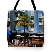 Old Miami Tote Bag