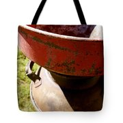 Old Milk Can Tote Bag