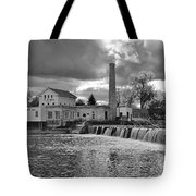 Old Mill And Banquet Hall Tote Bag