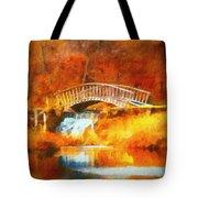 Old Mill Bridge Tote Bag