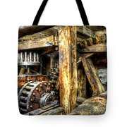 Old Mill Cogs Tote Bag