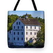 Old Mill In Caledonia Ontario Tote Bag