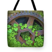 Old Mill Of Guiford Grinding Gear Tote Bag