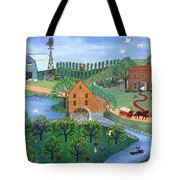 Old Mill Stream Tote Bag