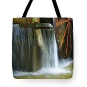 Old Mill Water Wheel Tote Bag