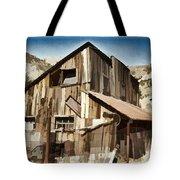 Old Mine Shack Tote Bag