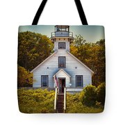 Old Mission Point Light House 02 Tote Bag