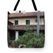 Old Mission Santa Barbara Tote Bag