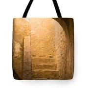 San Antonio Texas Concepcion Mission Stairs Tote Bag