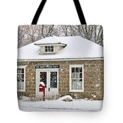 Old Monclova Post Office 6998 Tote Bag