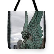 Old Montreal Angel Filmstrip Tote Bag