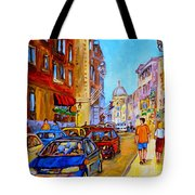 Old Montreal Tote Bag