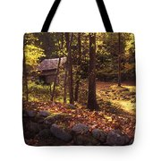 Old Mountain Shed Tote Bag by Paul W Faust -  Impressions of Light