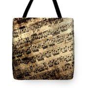 Old Music Tote Bag