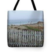 Old Nantucket Fence Tote Bag