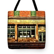 Old National Bank Of Thurmond Tote Bag