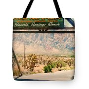 Old Nevada Entrance Tote Bag