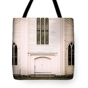 Old New England Gothic Church Tote Bag