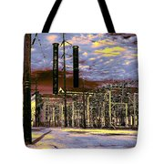 Old New Orleans Electric Plant Tote Bag