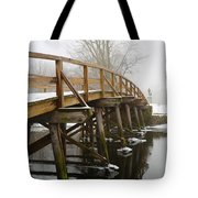 Old North Bridge Tote Bag by Allan Morrison