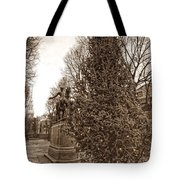 Old North Church And Paul Revere Tote Bag