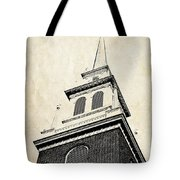 Old North Church In Boston Tote Bag