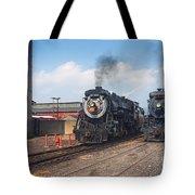 Old Number 3254 Under Steam Tote Bag