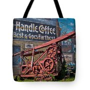 Old Oil Rig Tote Bag