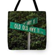 Old Old Tote Bag