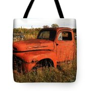 Old Orange Tote Bag