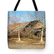 Old Orchard Barn Tote Bag