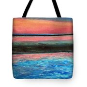 Old Orchard Beach Maine Snow Cover Tote Bag